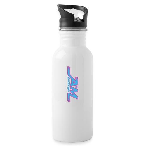Average-Man New - Trinkflasche mit integriertem Trinkhalm