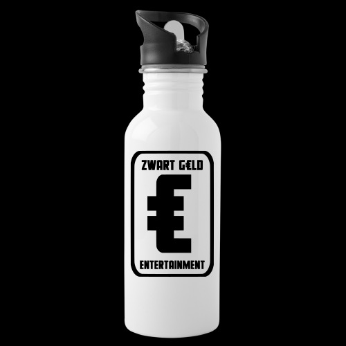 ZwartGeld Logo Sweater - Drinkfles met geïntegreerd rietje