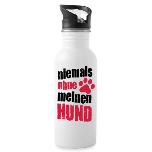 Vorschau: niemals ohne meinen hund - Trinkflasche