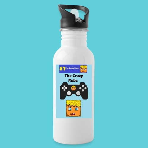 games controller - Water bottle with straw