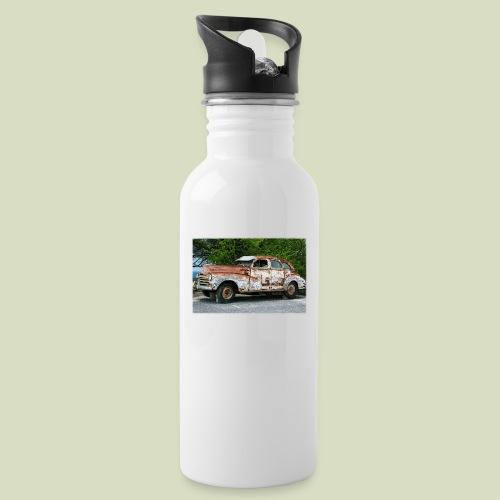RustyCar - Juomapullo, jossa pilli