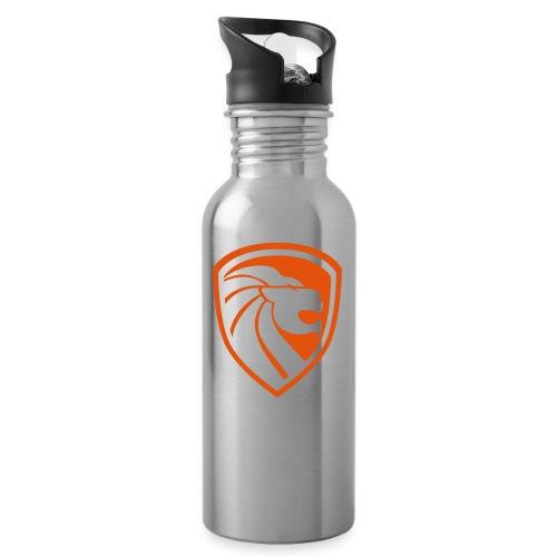 Emblem - Trinkflasche mit integriertem Trinkhalm