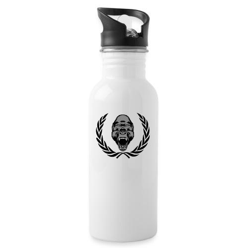 therealkingdomoficial - Botella cantimplora con pajita integrada