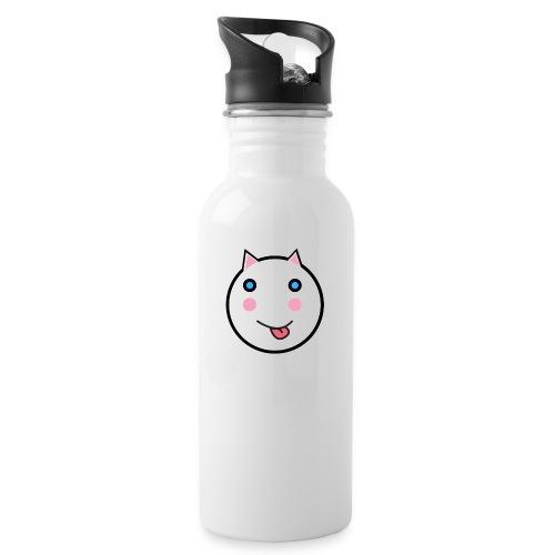 Alf Cat | Alf Da Cat - Water bottle with straw