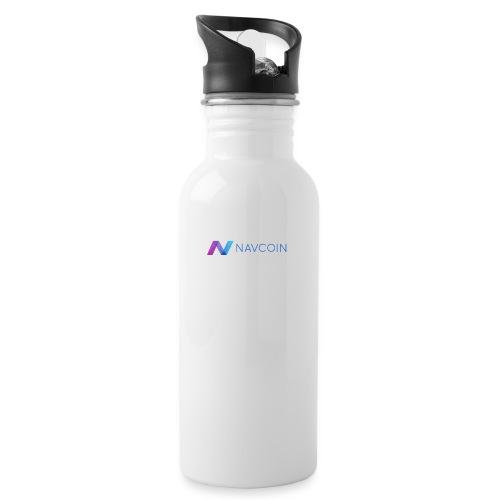 Navcoin (Nav) - Trinkflasche mit integriertem Trinkhalm