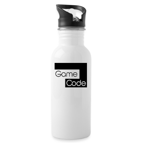 gamecodeicon - Water bottle with straw