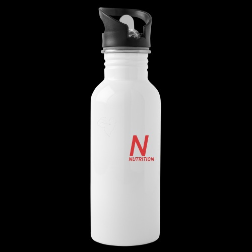 Climax Nutrition Logo - Water bottle with straw