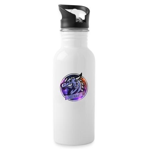 DIa Logo - Drikkeflaske med integreret sugerør