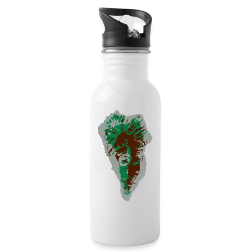 lapalma - Trinkflasche mit integriertem Trinkhalm