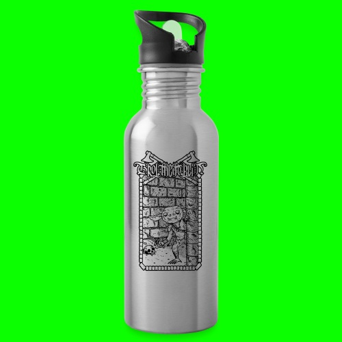Return to the Dungeon - Water bottle with straw