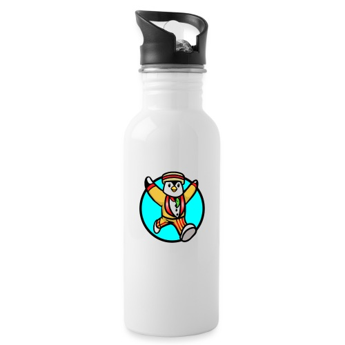 Rockery Squad Design - Water bottle with straw