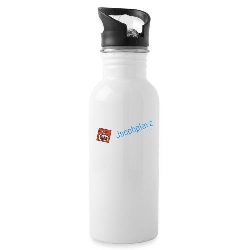 Homey - Water bottle with straw