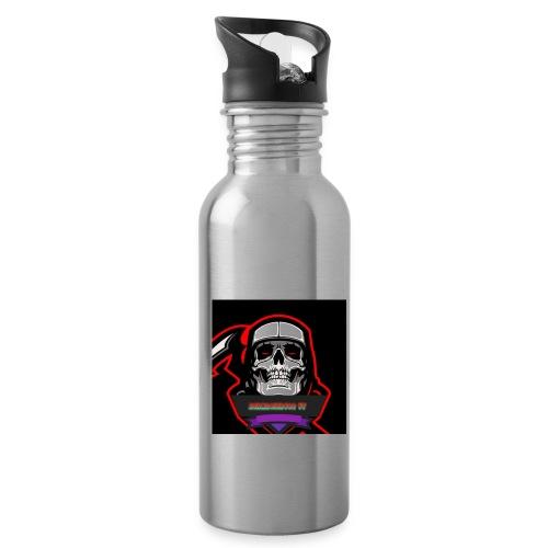 DerMagier432YT Shop - Trinkflasche mit integriertem Trinkhalm