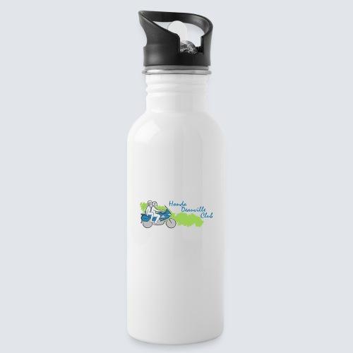 HDC logo - Drinkfles met geïntegreerd rietje