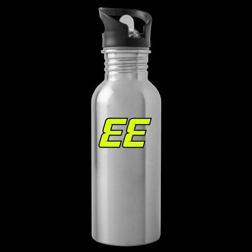 EE - Double E - 33 - Vattenflaska med integrerat sugrör