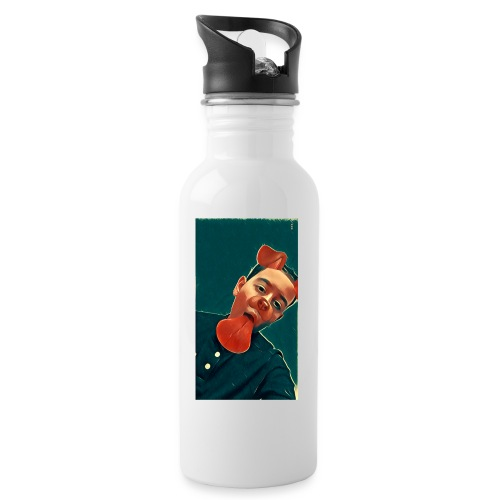 More MK21's Merch - Water bottle with straw