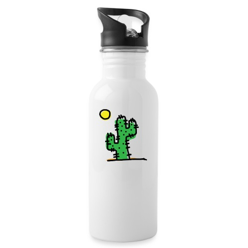 Cactus single - Borraccia con cannuccia integrata