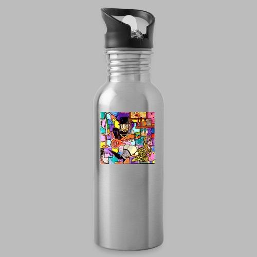 Vunky Vresh Vantastic - Drinkfles met geïntegreerd rietje