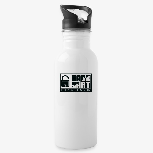 backart - for a reason - Water bottle with straw