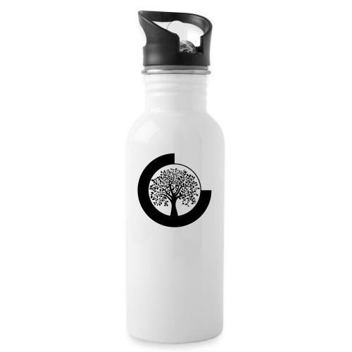 YANTOTBY Logo - Drinkfles met geïntegreerd rietje