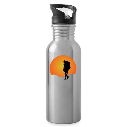 Capoeira me venceu - Water bottle with straw