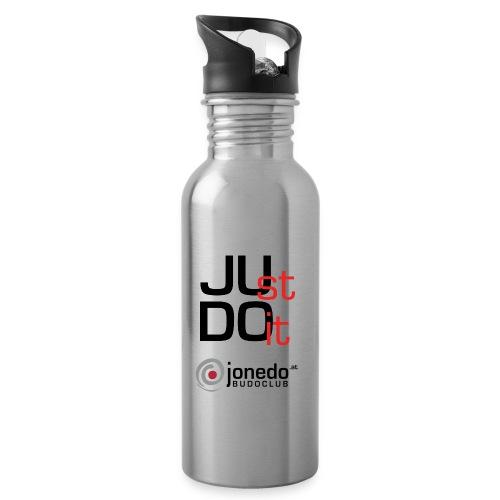 jonedoat balken pfad - Trinkflasche mit integriertem Trinkhalm