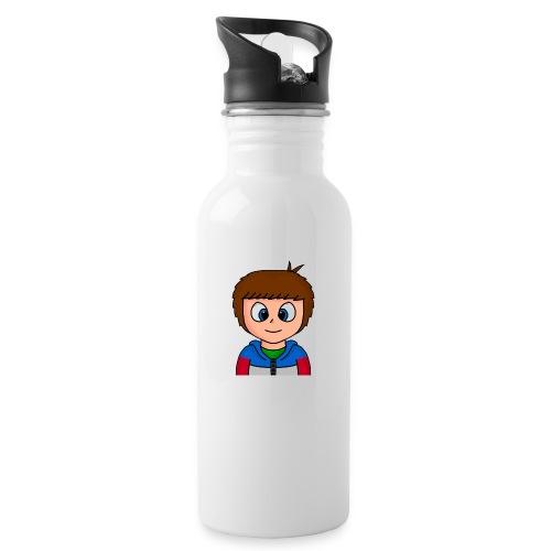 giofilms - Drikkeflaske med integreret sugerør