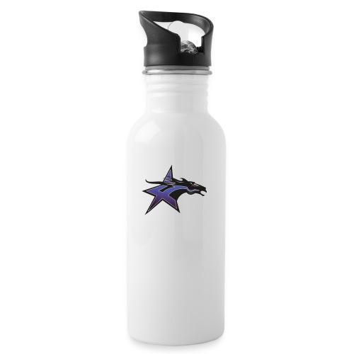 Mad Dashers Logo jpg - Drikkeflaske med integreret sugerør