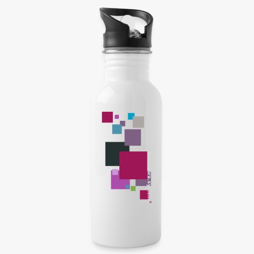 ontwerp t shirt png - Water bottle with straw
