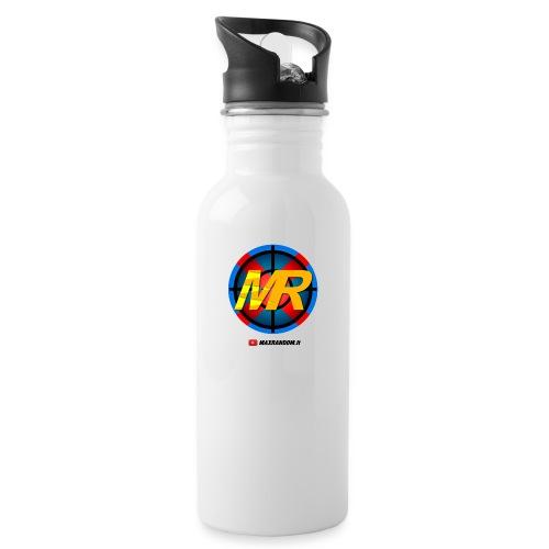 Logo MR - Borraccia con cannuccia integrata