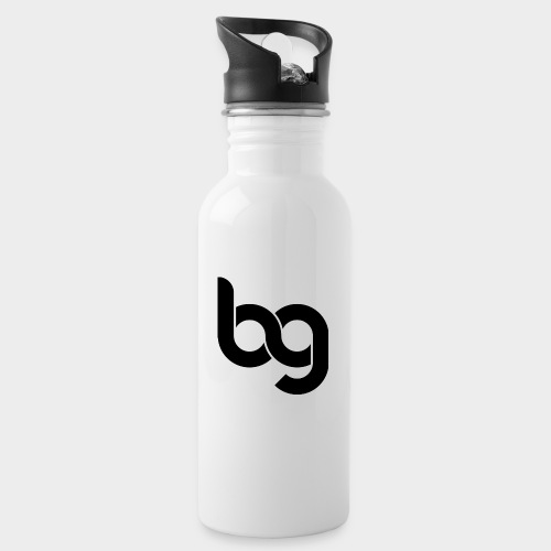 Blackout - Water bottle with straw