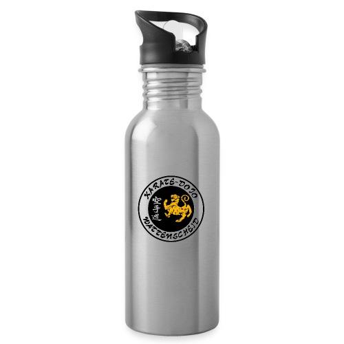 onkinawate logo ueberarbeitet - Trinkflasche mit integriertem Trinkhalm