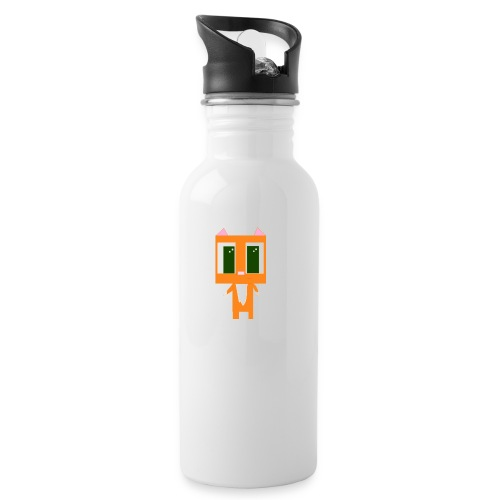 Longcat design png - Water bottle with straw