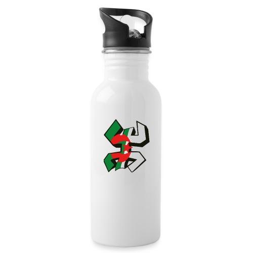 algérien - Gourde avec paille intégrée