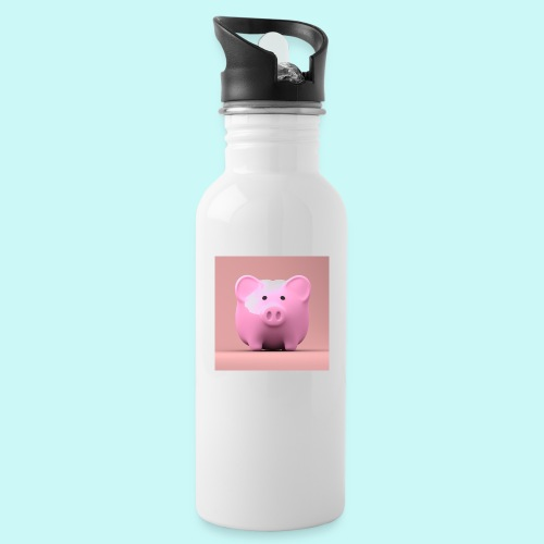 piggy - Water bottle with straw