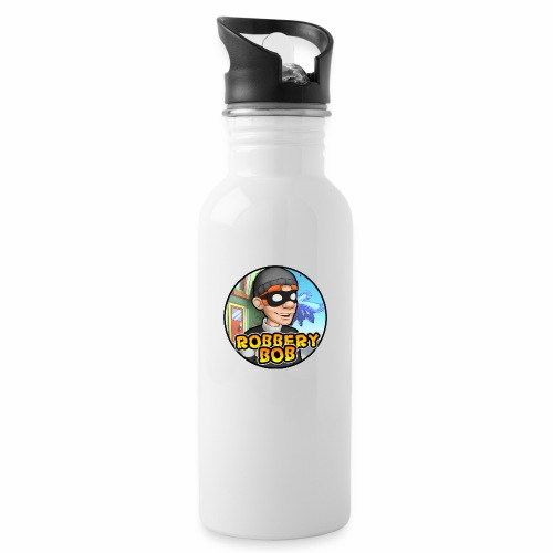 Robbery Bob Button - Water bottle with straw
