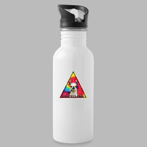 Illumilama logo T-shirt - Water bottle with straw