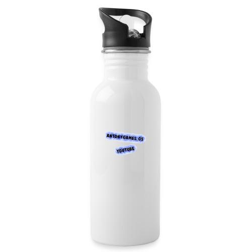 AntonyGames05 - Drinkfles met geïntegreerd rietje