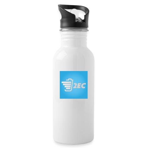 2EC Kollektion 2016 - Trinkflasche mit integriertem Trinkhalm