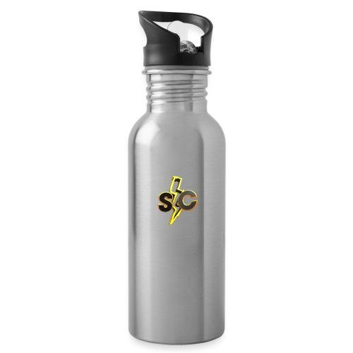 SkyCatan Appereal! Limited edition dank! - Drikkeflaske med integrert sugerør