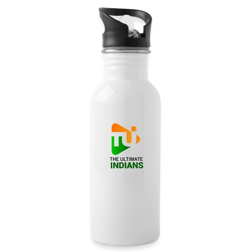 Intro - Water bottle with straw