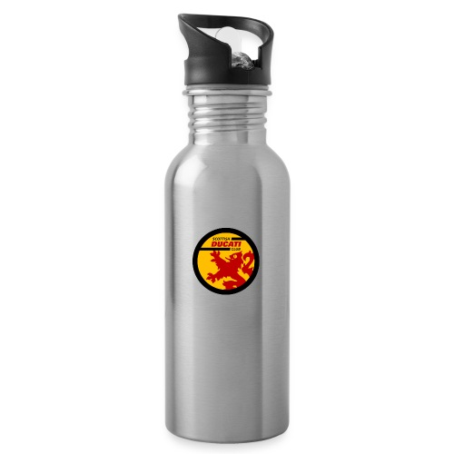 GIF logo - Water bottle with straw