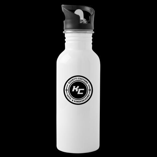 kc_tunnus_2vari - Juomapullo, jossa pilli