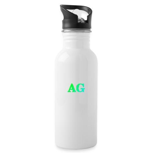 ATG Games logo - Juomapullo, jossa pilli