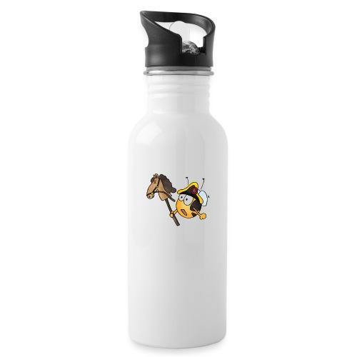 General Nachwuchs - Trinkflasche mit integriertem Trinkhalm