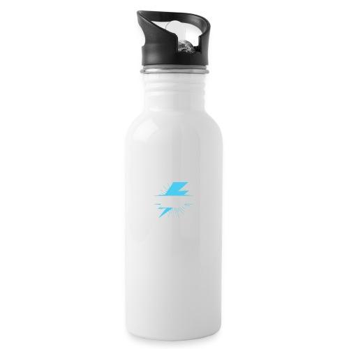 instantketoenergy - Trinkflasche mit integriertem Trinkhalm