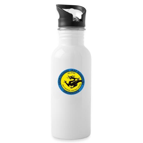 Sportschool Jaap Schuitema - Drinkfles met geïntegreerd rietje