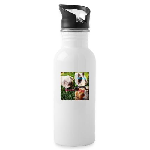 Mygoodanimallife - Drinkfles met geïntegreerd rietje