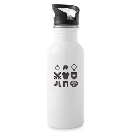 RPG Inventory Slots - Drikkeflaske med integreret sugerør