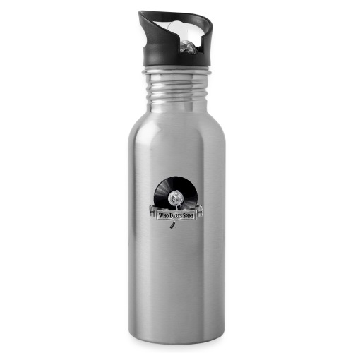 Badge - Water bottle with straw